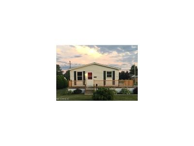 Campbell OH Single Family Home For Sale: $49,500