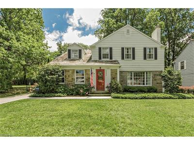 Shaker Heights Single Family Home For Sale: 22650 Rye Rd