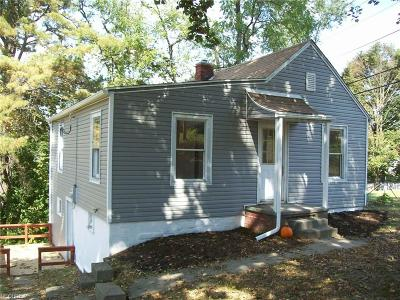Guernsey County Single Family Home For Sale: 917 Foster Ave