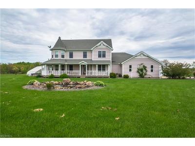 Ashtabula County Single Family Home For Sale: 1465 Thiel Rd