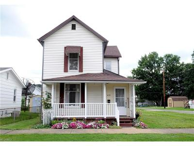 Guernsey County Single Family Home For Sale: 418 South 8th St