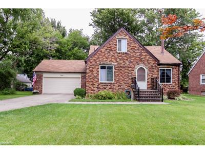 North Olmsted Single Family Home For Sale: 5491 Porter Rd