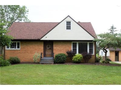 Chardon Single Family Home For Sale: 445 North St