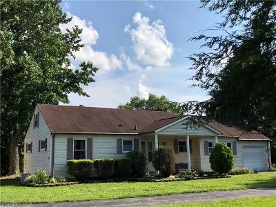 Belpre Single Family Home For Sale: 1603 Washington Blvd