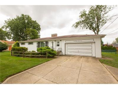 Single Family Home For Sale: 21977 Hilliard Blvd
