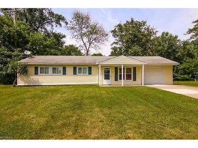 Bedford Heights Single Family Home For Sale: 24245 Uppingham Rd