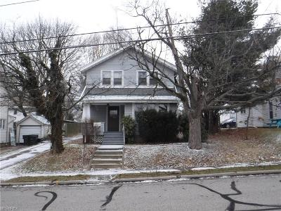 Wadsworth OH Single Family Home For Sale: $95,000