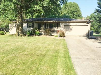 Canfield Single Family Home For Sale: 4314 Timberbrook Dr