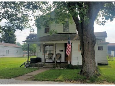 Belpre Single Family Home For Sale: 414 Walnut Street