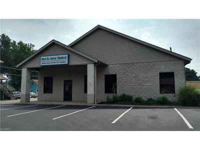 Zanesville Commercial Lease For Lease: 1080 Linden Ave