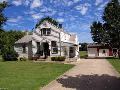 Garrettsville Single Family Home For Sale: 9991 Silica Sand Rd