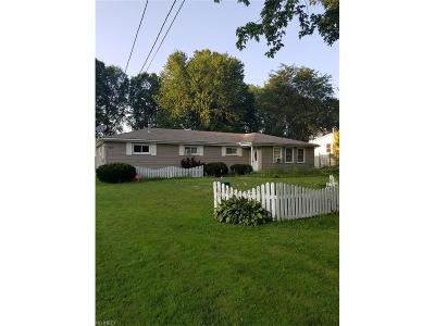 Warren OH Single Family Home For Sale: $89,900