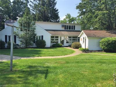 Guernsey County Single Family Home For Sale: 14695 East Pike Rd