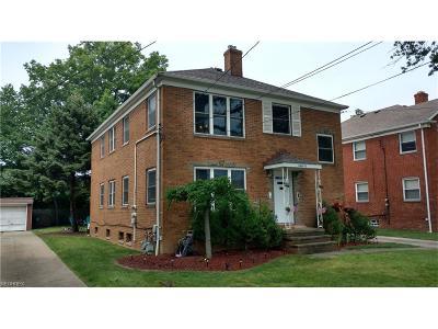 Rocky River Multi Family Home For Sale: 19560 Hilliard Blvd