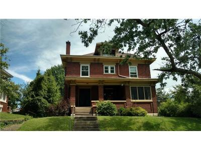 Zanesville Multi Family Home For Sale: 625 Fairmont Ave