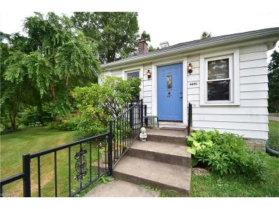 Canfield Single Family Home For Sale: 4495 Messerly Rd