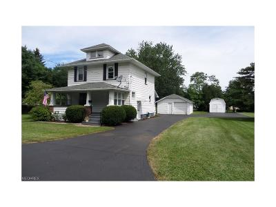 Newton Falls OH Single Family Home For Sale: $94,900