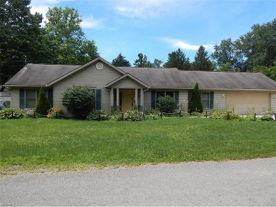 Chippewa Lake Single Family Home For Sale: 7165 Hunter Dr