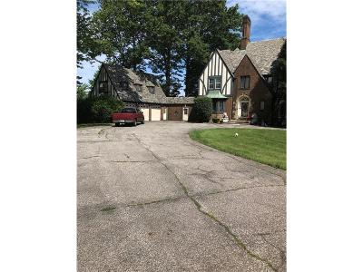 Euclid Single Family Home For Sale: 25621 Edgecliff Dr