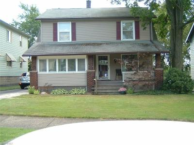Girard Single Family Home For Sale: 327 East Broadway Ave