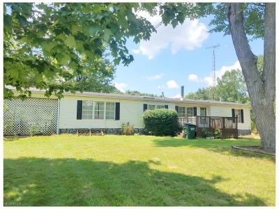 Single Family Home For Sale: 14783 Seigler Rd