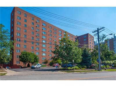 Bay Village, Cleveland, Lakewood, Rocky River, Avon Lake Condo/Townhouse For Sale: 11820 Edgewater #504