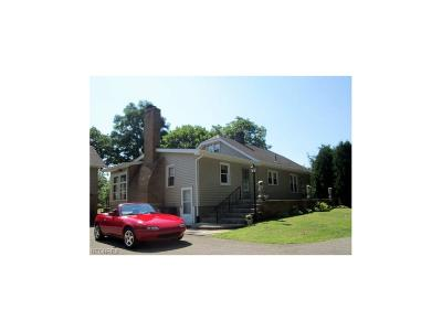 Boardman Single Family Home For Sale: 8495 Hitchcock Rd