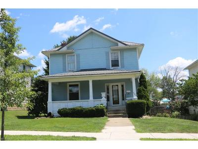 Guernsey County Single Family Home For Sale: 432 Oakland Blvd