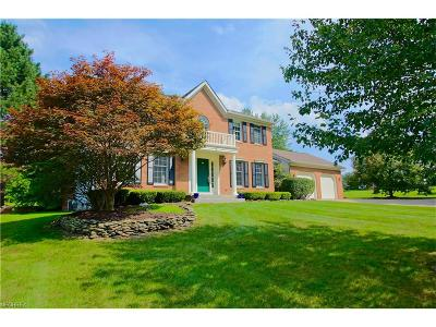Geauga County Single Family Home For Sale: 16521 Haskins Rd