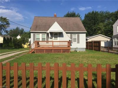 Painesville OH Single Family Home For Sale: $100,000