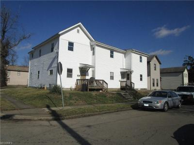 Zanesville Multi Family Home For Sale: 1331 Clover St