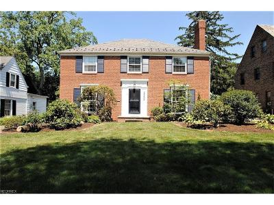 Shaker Heights Single Family Home For Sale: 22469 Calverton Rd