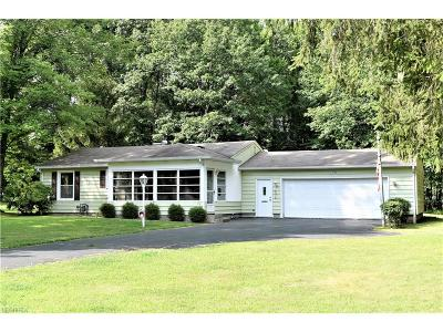Youngstown Single Family Home For Sale: 3750 Cumberland Cir