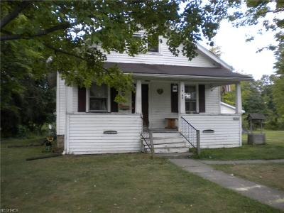 Garrettsville Single Family Home For Sale: 10260 Hewins Rd