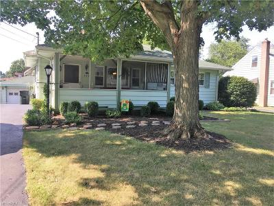 Struthers Single Family Home For Sale: 474 Spring St