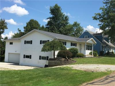 Guernsey County Single Family Home For Sale: 63220 Poplar Rd
