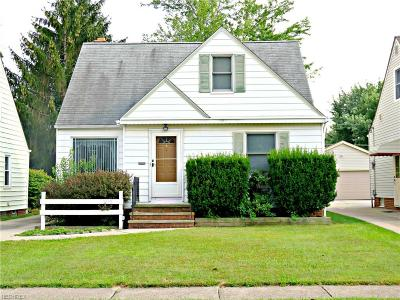 Parma Single Family Home For Sale: 2519 Lincoln Ave