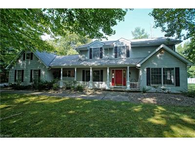 Chagrin Falls Single Family Home For Sale: 16566 Lucky Bell Ln