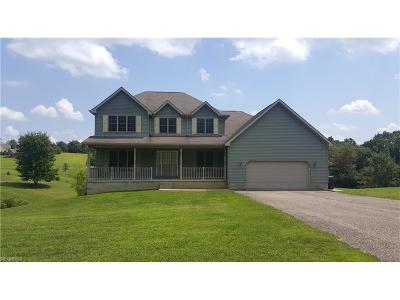 Zanesville Single Family Home For Sale: 1236 Hickory Creek Dr