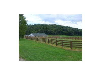 Muskingum County Farm & Ranch For Sale: 8700 Canal Rd