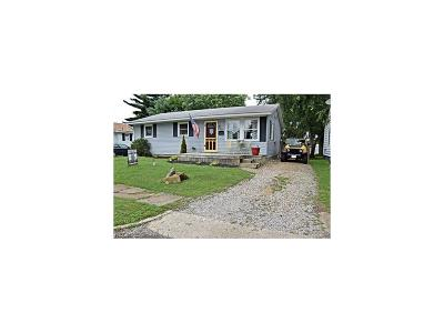 Zanesville Single Family Home For Sale: 1145 Lindbergh Ave