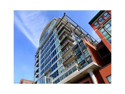 Cleveland Condo/Townhouse For Sale: 701 West Lakeside Ave #705