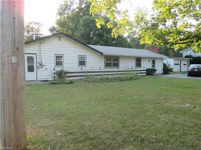 Madison Single Family Home For Sale: 7351 Lake Rd