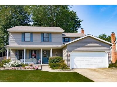 Mentor-On-The-Lake Single Family Home For Sale: 5872 Springwood Dr