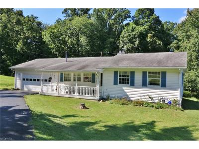 Zanesville Single Family Home For Sale: 1745 Nob Hill Rd