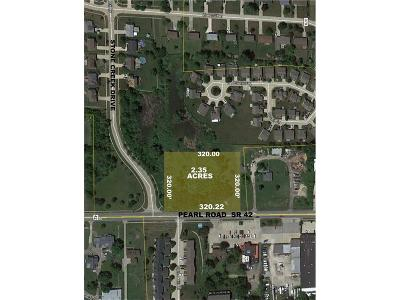 Brunswick Residential Lots & Land For Sale: 615 Pearl Rd