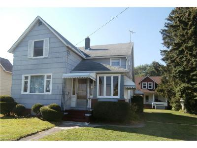 Fairport Harbor Single Family Home For Sale: 408 New 4th St