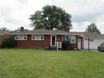 Struthers Single Family Home For Sale: 232 Overlook Blvd