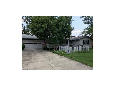 Zanesville Single Family Home For Sale: 2164 Dunzweiler Dr