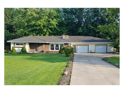 Bristolville OH Single Family Home For Sale: $139,900